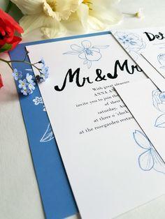 10 % OFF! Floral wedding invitation set / Editable & Printable / available in my Etsy Shop Floral Wedding Invitations, Wedding Invitation Templates, Digital Prints, My Etsy Shop, Printables, Unique Jewelry, Handmade Gifts, Fingerprints, Kid Craft Gifts