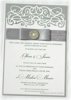 paperlicious oasis wedding stationery
