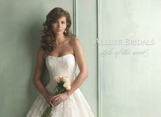 style of the week: 9121 | allure bridals blog