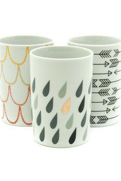 Porcelain tumbler | Tigertree