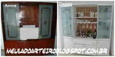 Estante restaurada estilo provençal http://meuladoarteiro.blogspot.com.br/2014/02/estante-provencal.html