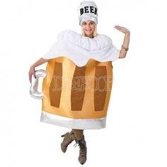 Disfraz Jarra cerveza para mujer
