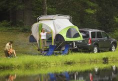 I saw a demo of this camper today & it Really Is the Coolest Camper Ever!