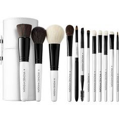 Natasha Denona Basic Brush 12 Piece Set (1.320.660 IDR) ❤ liked on Polyvore featuring beauty products, makeup, makeup tools and makeup brushes