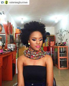 """#Repost @valerieegbuniwe with @repostapp ・・・ Editor's #Style Picks - Afro hairstyles we Love. #ZenMagazine | http://zenmagazineafrica.com/ Modeled by…"""