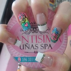 Lindo diseño de unas con mandalas New Nail Art, Cute Nail Art, Cute Nails, Pretty Nails, Elegant Nail Designs, Pretty Nail Designs, Toe Nail Designs, Perfect Nails, Gorgeous Nails