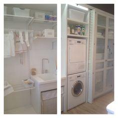 Laundry lavadero on pinterest laundry rooms laundry - Cuarto de lavado y planchado ...