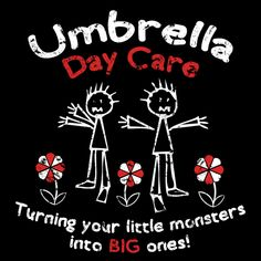 All those scientists had to do something with the kids. and so did the Umbrella Corporation! Umbrella Corporation, Stuff To Do, Cool Stuff, Little Monsters, Resident Evil, Scientists, Zombies, Something To Do, Video Games