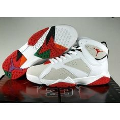 The Air Jordan 7 was a love/hate shoe. Many collectors thought it was the   greatest shoe ever, while many thought it was the worst shoe imaginable.   None-the-less, it is still a very popular shoe and has a large following   whenever re-released.