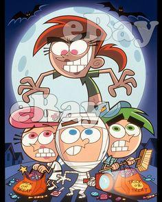 Rare! FAIRLY ODDPARENTS Cartoon Color Photo #3 NICKELODEON TV series