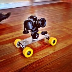 DIY Dolly. Epic shots all day.