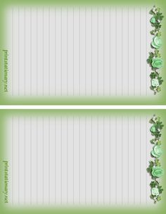 free printable stationary for girls, free girls stationary templates 4