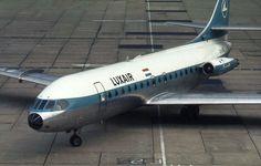 Luxair LX-LGF Sud Aviation SE-210 Caravelle, 1973