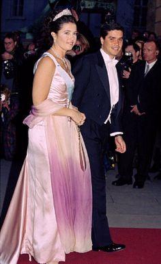 Princess Alexia Of Greece with her husband Carlos Morales Quintana