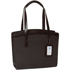 Nancy Laptop Briefcase - Shadow Black