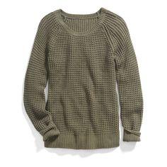 Stitch Fix Trending Fall Colors: Olive Green Yes. Love the olive sweater. Stitch Fix Fall, Stitch Fit, Stitch Fix Outfits, Fix Clothing, Vogue, Stitch Fix Stylist, Waffle Knit, Waffle Stitch, The Bikini