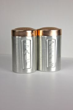 Vintage Salt & Pepper Shakers. $7.00, via Etsy.
