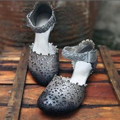 Aliexpress.com : Buy New 2017 original Head layer cowhide pure handmade Weave sandals,the retro art mori girl shoes,Women's casual shoes Flats shoes from Reliable weave sandals suppliers on Mori girl likes Store