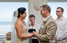 Ceremonies by Bethel Officiates an Intimate Wedding at The Marine Room / follow @truephotography