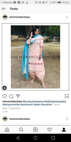New Punjabi Suit, Designer Punjabi Suits Patiala, Punjabi Suits Party Wear, Patiala Salwar Suits, Salwar Pants, Punjabi Suit Boutique, Punjabi Suits Designer Boutique, Boutique Suits, Indian Designer Suits