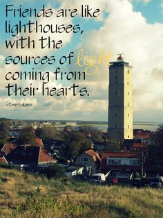 Lighthouse, quote, words