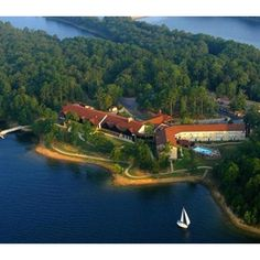 Lake Degray State Park Lodge, AR. I worked here one summer during college. I was an event planner for business meetings, family and class reunions, weddings and receptions. Great fun, great place, great people.