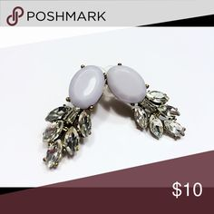 New low price! New gray drop earrings Cute gray drop earrings.  Great for any occasions!  They are brand new. Jewelry Earrings