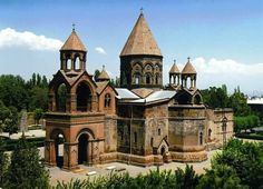 Armenia lies in the highlands surrounding the Biblical mountains of Ararat, upon which Noah's Ark is said to have come to rest after. Byzantine Architecture, Historical Architecture, Ancient Architecture, Church Architecture, Monuments, Armenian Military, Armenia Travel, Armenian Culture, Armenian Food