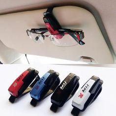 Precio barato Car styling accesorios gafas clip Del Visera de Sol Gafas de Sol de Recibo Del Billete Titular de Clip de la Tarjeta de Almacenamiento