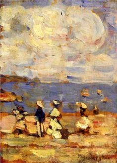 St. Malo - Maurice Prendergast c.1907