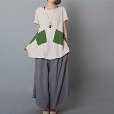 Summer cotton Top - Buykud