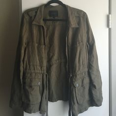 Sanctuary utility jacket Sanctuary utility jacket in olive green. Only worn 1x. Sanctuary Jackets & Coats Utility Jackets
