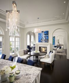 Burlington Interior Design Project: Contemporary Classicism | Regina  Sturrock Design Inc Interior Design Living Room