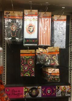 MORE items 9/4/15 from Micheal's in West Des Moines/Clive. Party Paper supply for Day of the Dead