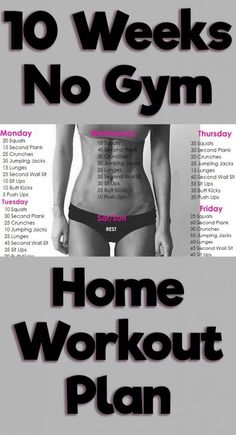 If you've decided to lose weight, this workout plan can be of great help. Along with working out, you will also need to eat a healthy diet and drink sufficient amounts of water so that the workout can yield positive results. You should workout from 45 to Fitness Workouts, Fitness Motivation, Fat Workout, Quick Full Body Workout, Full Body Workouts, Quick Daily Workouts, Exercise Motivation, Fitness Goals, Workouts For Teens
