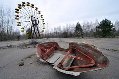 Pripyat is well-known because of the Chernobyl Nuclear Power Plant disaster that took place in 1986. Once housing thousands of plant workers, as well as their families, the entire city had to be evacuated after an accident caused a leak of nuclear radiation. Now, the town stands empty, with few remnants of the lives that once existed there.