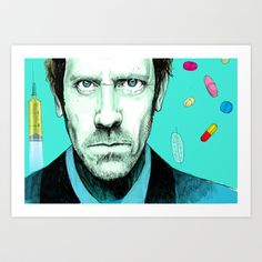 hallucinogenic House Art Print by Matteo Lotti - $12.48