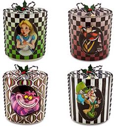 Alice in Wonderland Candle Holders