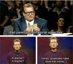 Bad Parental Motivational Speeches via /r/funny