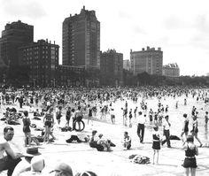 Oak Street Beach, 1929