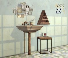 Sims 4 CC's - The Best: Bathroom Sink Recolors by AnnarchySims
