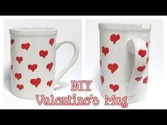 DIY Valentine's Mug Tutorial