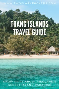 Discover paradise in the beautiful beaches of Trang islands, Thailand. Plan a trip to Trang islands using our guide. Thailand Travel Guide, Visit Thailand, Asia Travel, Bangkok Travel, Beach Travel, Beautiful Places To Visit, Beautiful Beaches, Cool Places To Visit, Luang Prabang