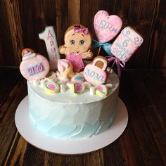 Cakes Without Fondant, Fondant Cakes, Cupcakes, Cake Cookies, Russian Cookies, Cookie Cake Designs, Royal Icing Cakes, Cake Structure, Colorful Cakes