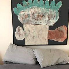 Flower Art, Art Flowers, Painted Paper, Modern Wall Art, Installation Art, Illustration Art, Illustrations, Bunt, Art Boards