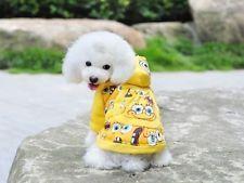 Hundemantel Welpenkleidung Alia-Gelb, Größe XS