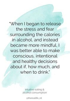 This is a topic I've gotten a few reader requests on and one that I can certainly relate to. I'm not quite sure I have all the answers, but my relationship with alcohol and my journey with intuitive eating has changed significantly over the past five years and I've learned a lot. My hope in this post is to combine my personal experience with my clinical experience to shed some light on this touchy topic. | The Real Life RD