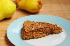 Skimmia hat einen ayurvedischen Birnen-Schichtkuchen für uns gezaubert. Nur schade, dass wir nicht beim Verkosten dabei sein durften! Der schaut verdammt lecker aus!