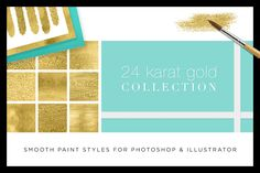 PsAi Combo: 24 Karat Gold Collection by Creators Couture on Creative Market