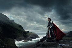 Annie Leibovitz Disney Dream Portrait: Roger Federer as King Arthur